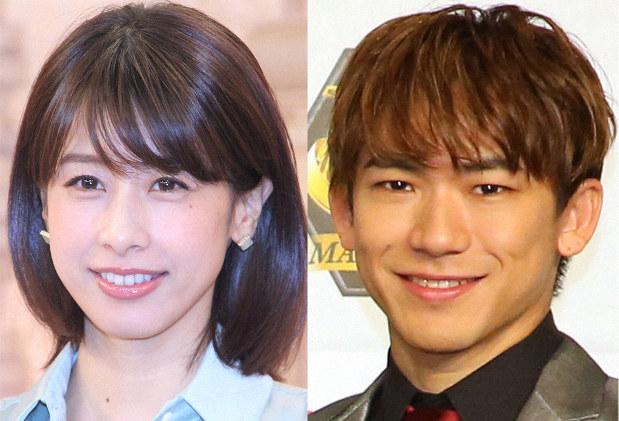 加藤綾子(カトパン)とEXILE NAOTOが結婚か。出会いは江夏大二郎